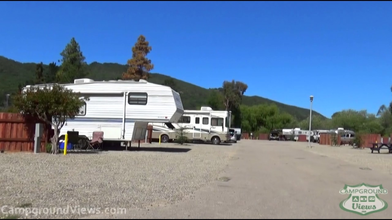 California beach camping with rv hookups at home