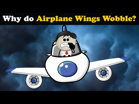 Why do Airplane Wings Wobble? + more videos | #aumsum #kids #science #education #children