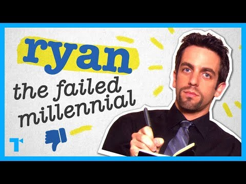 The Office's Ryan - A Millennial Tragedy
