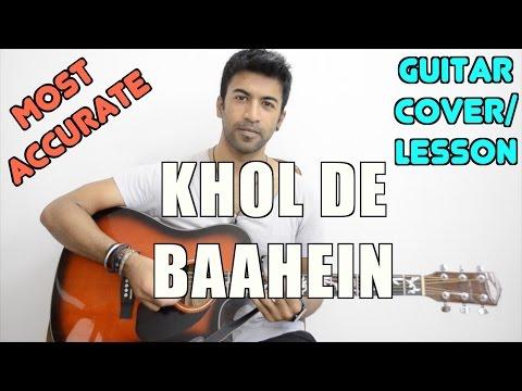 Khol De Baahein | Meri Pyaari Bindu | Monali Thakur | Guitar Cover + Lesson