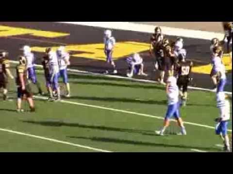 2015 Football - 8th grade Taylor Yellow Jackets vs Wyoming Cowboys