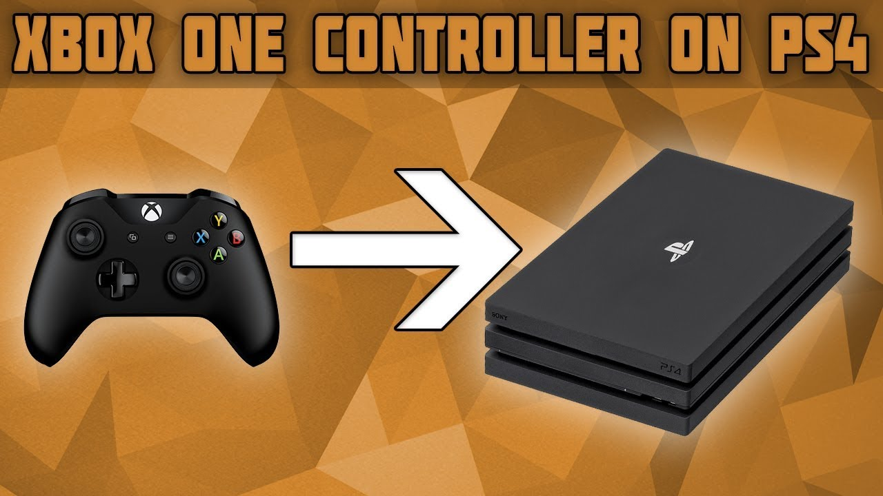 timeless design cb2f4 394df Use an Xbox One Controller on PS4! How to Use an Xbox One Controller on a  PS4! Xbox One on PS4!