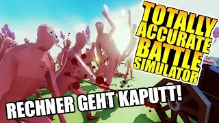 Totally Accurate Battle Simulator - Hühner killen meinen Rechner