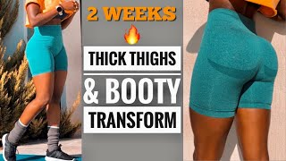 QUICKLY GROW THICKER THÏGHS   BOOTY   INTENSE LEG WORKOUT (15 Min) AT HOME   No Equipment.