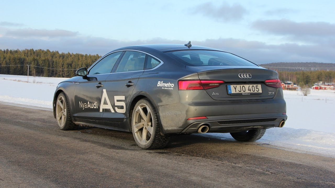 Audi A5 2.0 T >> 2017 Audi A5 2.0 TFSI 252 PS Sportback - YouTube