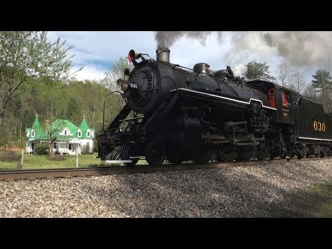 Southern Railway steam engine 630 HD