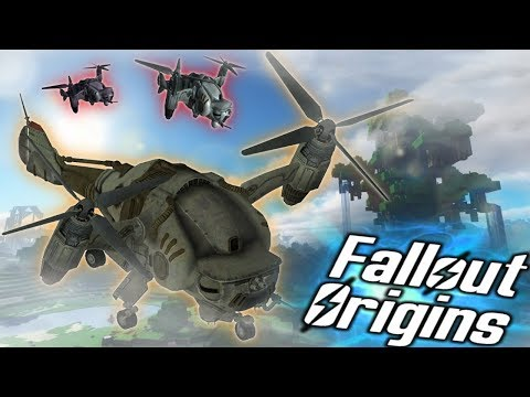 NEW ENEMIES! Minecraft FALLOUT ORIGINS #25 ( Minecraft Roleplay SMP ) thumbnail