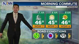 Monday Daybreak Forecast March 30th, 2020