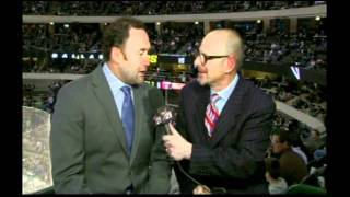 ed belfour 1st intermission interview 4 feb 12