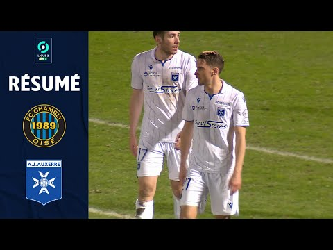 Chambly Auxerre Goals And Highlights