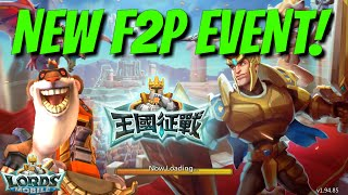 New F2P Event! - Lords Mobile