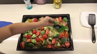 Филе Индейки с овощами . Мясо в Духовке . Что приготовить на Ужин .