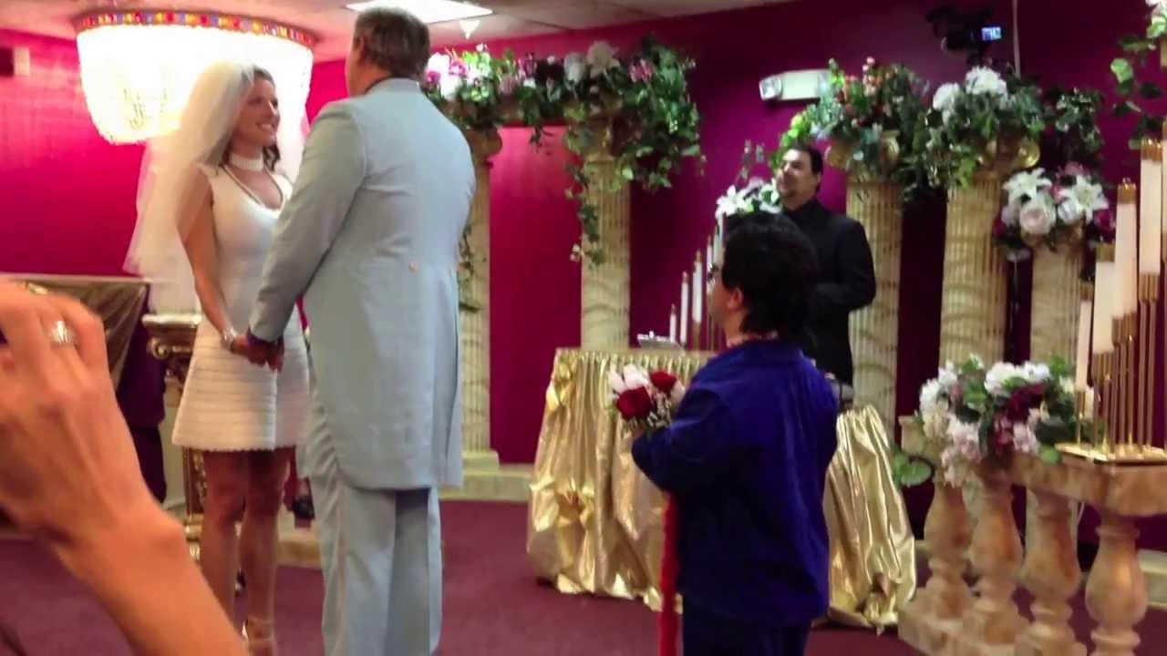 Vegas Wedding Midget Elvis
