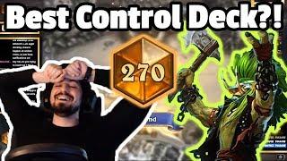 Dragon Control Warrior Best Control Deck? Top 200 Legend - Hearthstone Descent Of Dragons