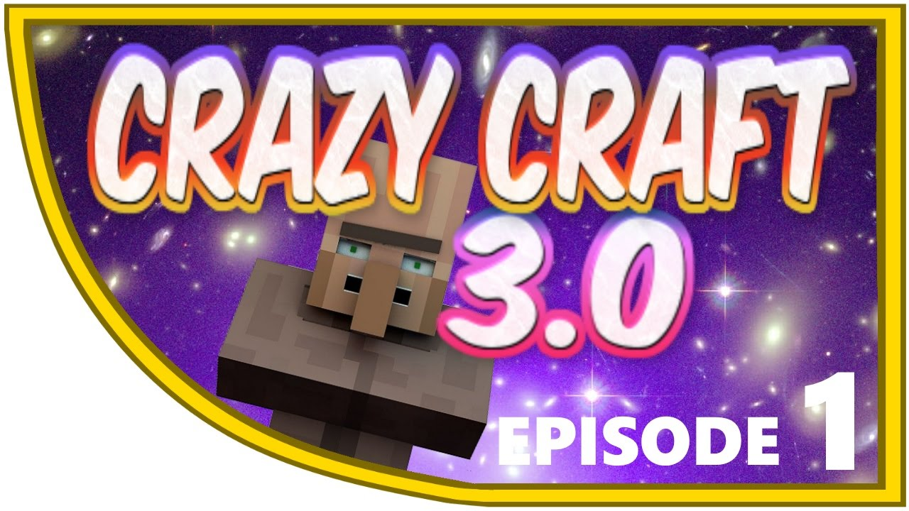 Crazy craft 3 0 quot minecraft crazy craft ep 1 what have i become