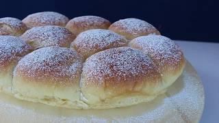 Pan Dulce Tunja Relleno súper tierno y esponjoso - Brioche - Bollitos dulces