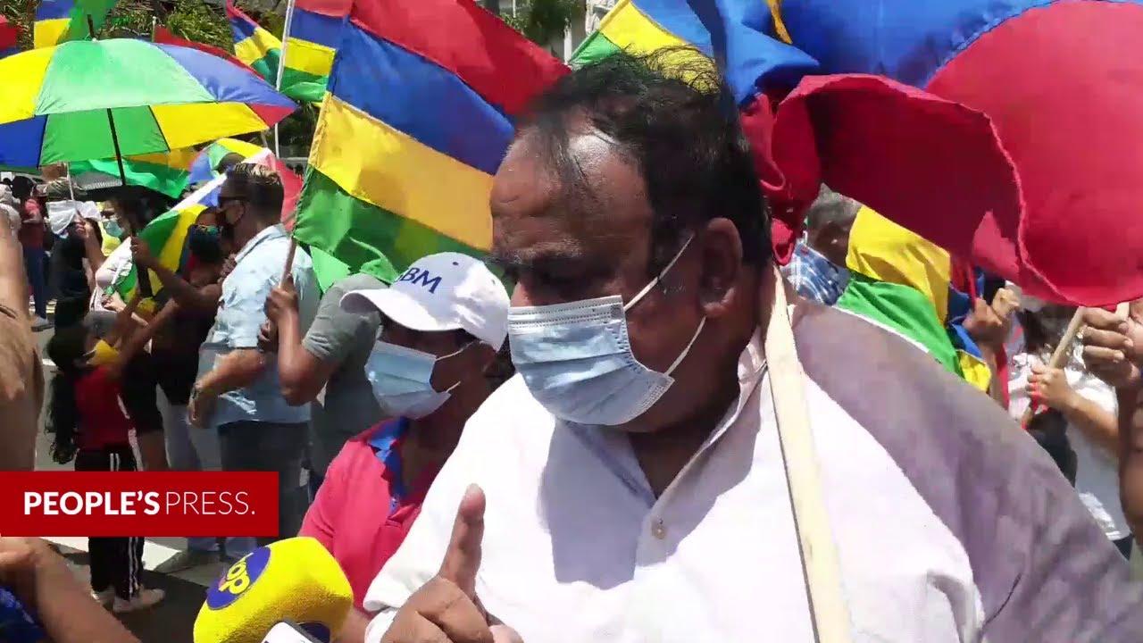 Download Rajen Narsinghen: «les Mauriciens ne doivent pas rester les bras croisés»