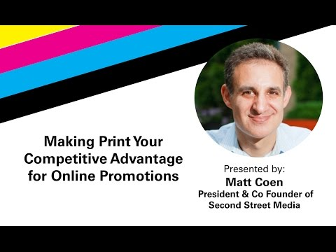 Making Print Your Competetive Advantage for Online Marketing