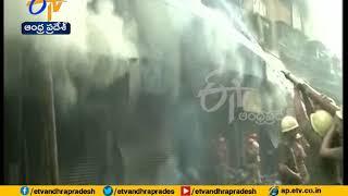 Massive blaze at Bagri Market, 30 fire engines on spot | Kolkata