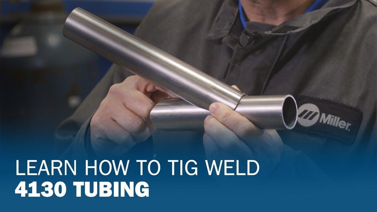 Learn How To Tig Weld 4130 Tubing Youtube