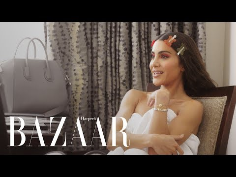 Camila Coelho Gets Ready For Her First Met Gala   Harper's BAZAAR