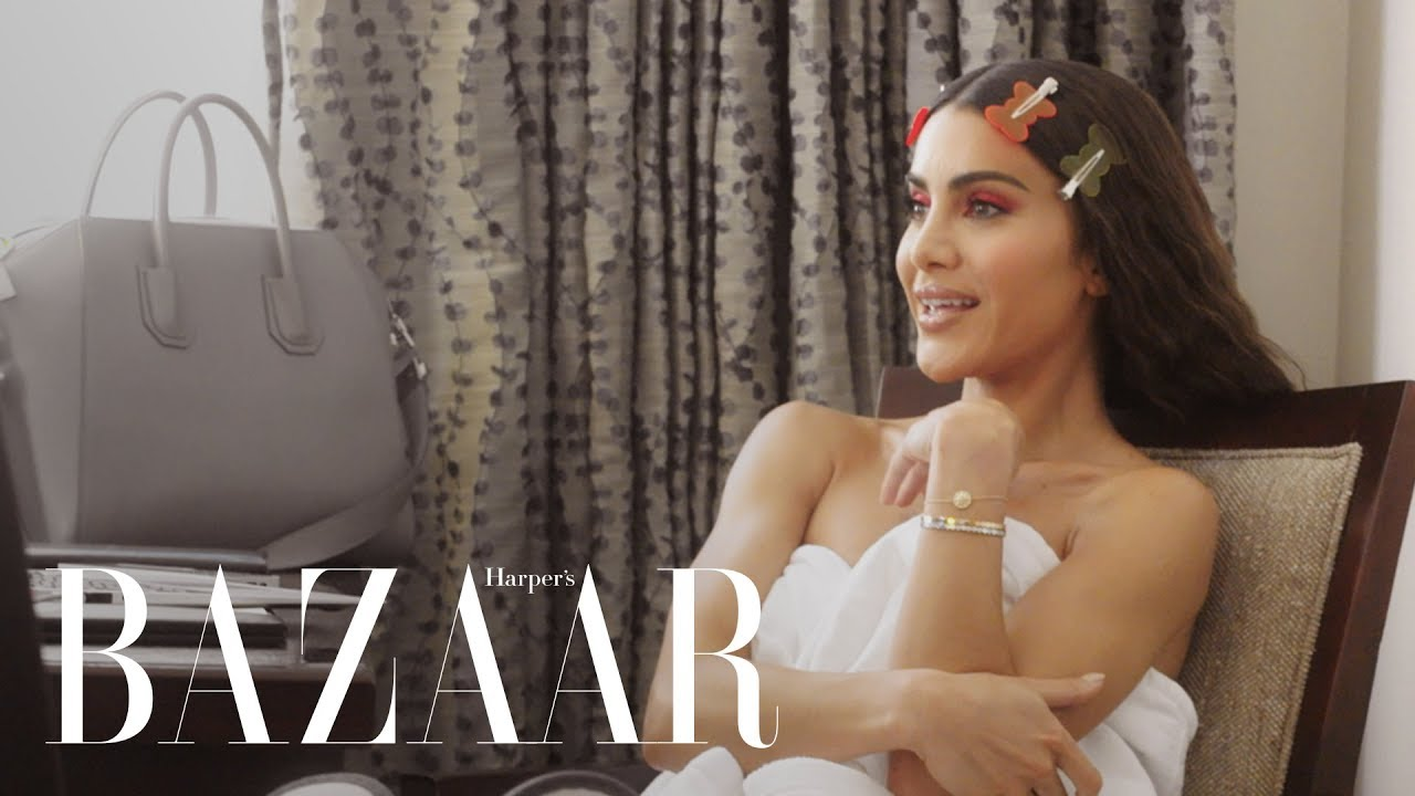 Camila Coelho Gets Ready for Her First Met Gala | Harper's BAZAAR
