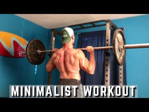 Minimalist Workout Routine   Full body Workout ( All Sets ...
