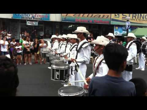 BANGUS FESTIVAL 2016 || University of Luzon Drum and Bugle Corp Parade Exhibition