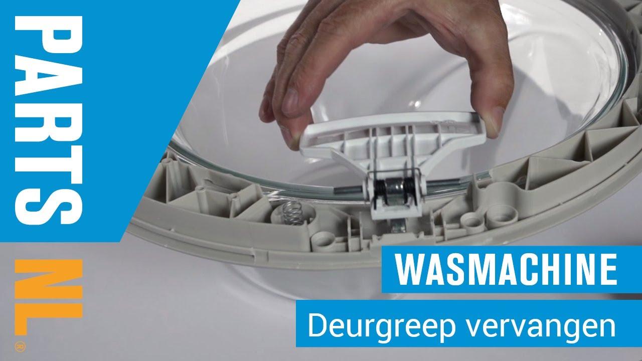 Beroemd Deurgreep vervangen van wasmachine, PartsNL uitleg - YouTube ZW84