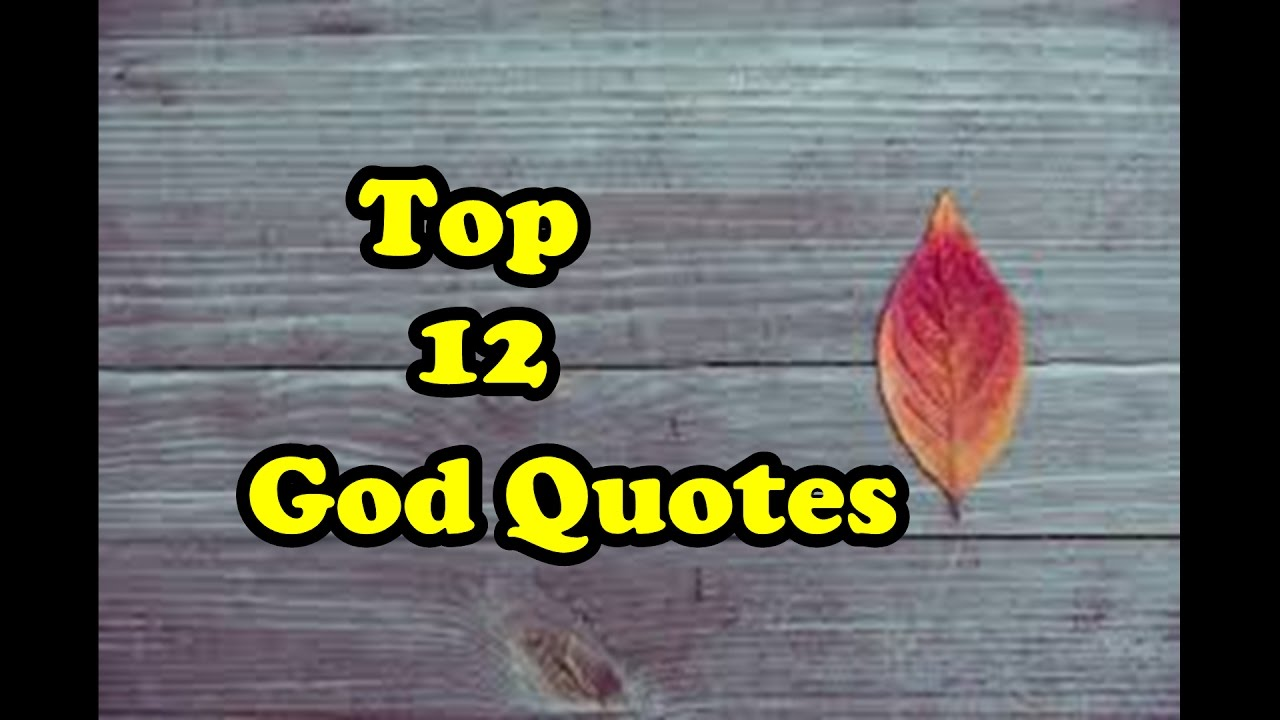 God Quotes Top 12 God Quotes 1  God Blessings  God Quotes About Strength