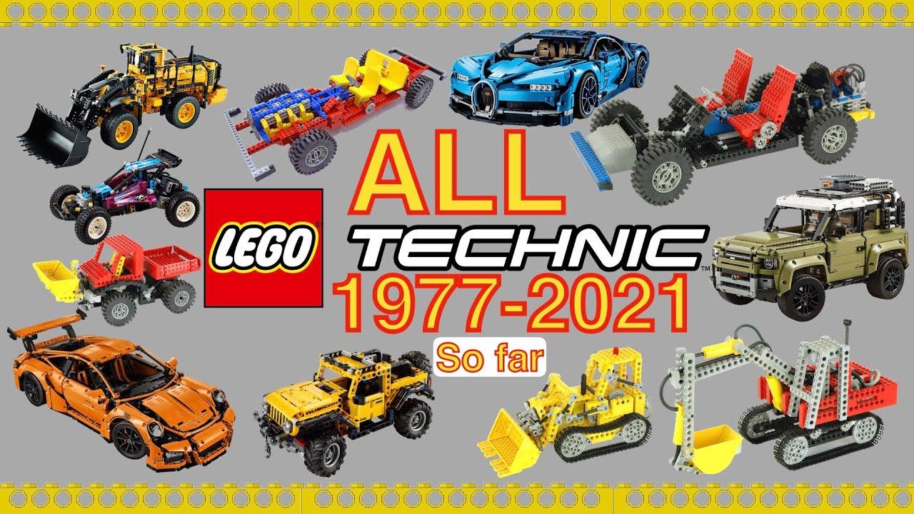 The Evolution of Lego Technic 1977 2021 so far - YouTube