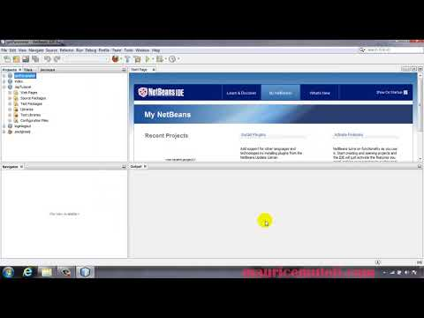 Java Server Pages Hello World Web Application Netbeans GlassFish Server Tutorial