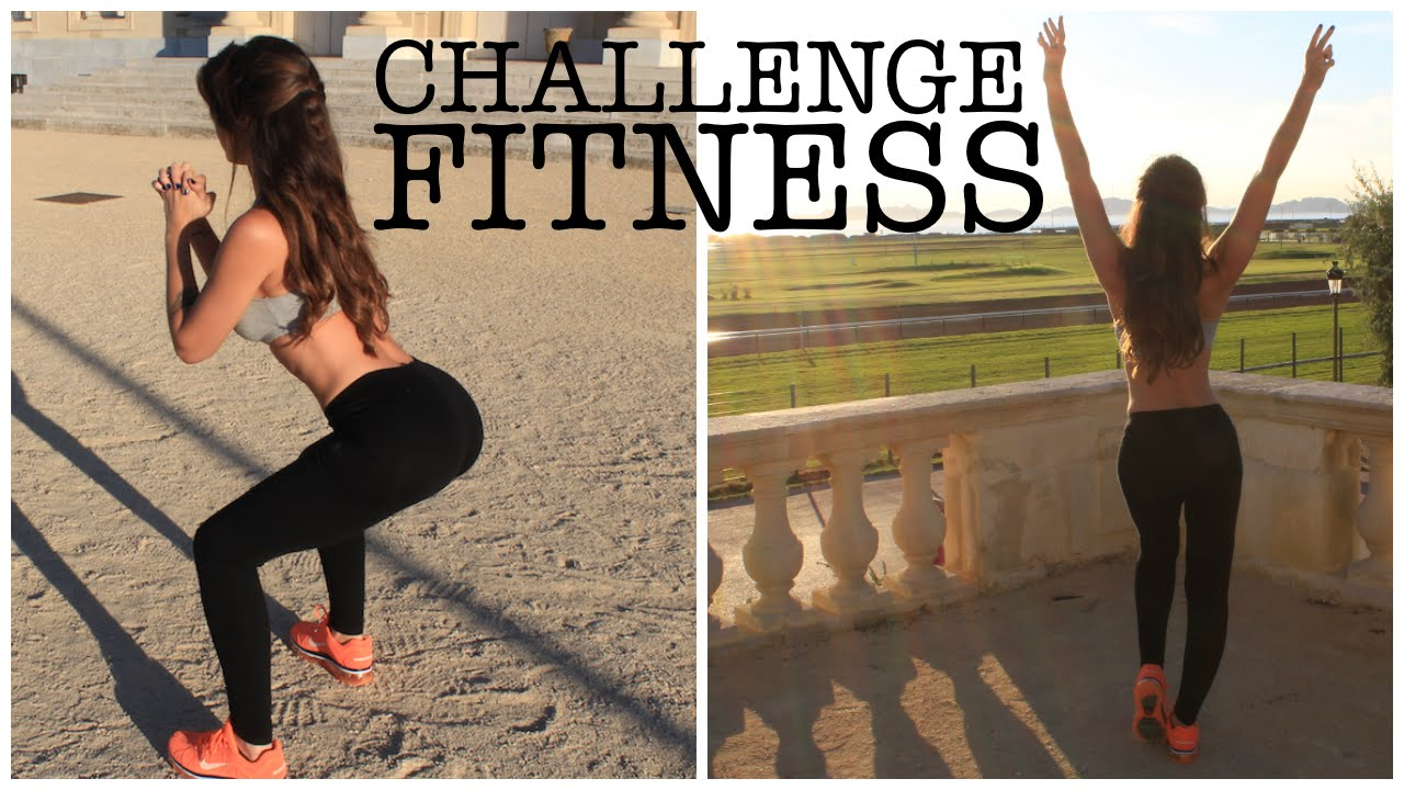 challenge fitness se sculpter des fesses bomb es et des jambes fines georgia horackova youtube. Black Bedroom Furniture Sets. Home Design Ideas