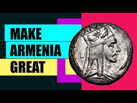 Великая Армения от моря до моря и Тигран 2-й Великий (история Армении)