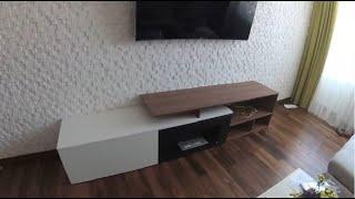 Гостиная с камином. Биокамин встроенный в мебель. Стенка на заказ Киев.(, 2017-08-30T14:27:25.000Z)
