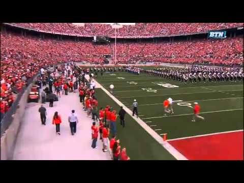 Ohio State School for the Blind Plays with OSU Marching Band