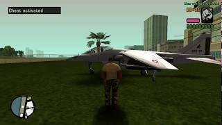Gta VCS - jetpack, hydra and fllying cars!!