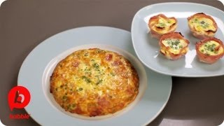 How To Make Frittata In Two Different Kind Of Ways | That's Fresh With Helen Cavallo | Babble