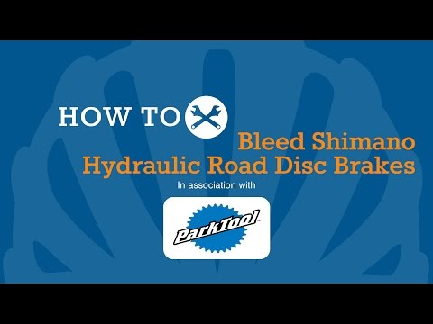 How To Bleed Shimano Hydraulic Road Disc Brakes