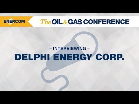Delphi Energy Corp. CEO David Reid at EnerCom's The Oil & Gas Conference® 2017