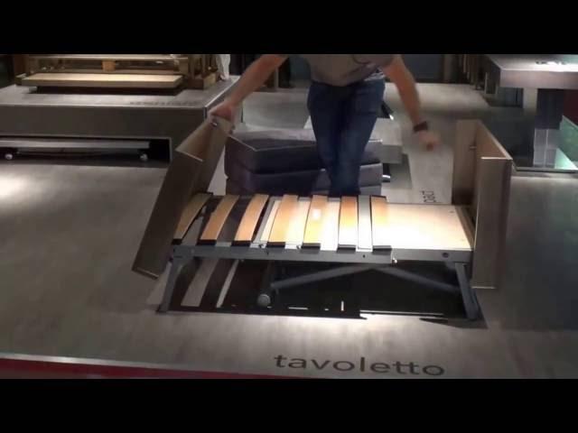 SizeDesign.it | Altacom - Tavolino trasformabile in letto novità 2016 mobili salvaspazio