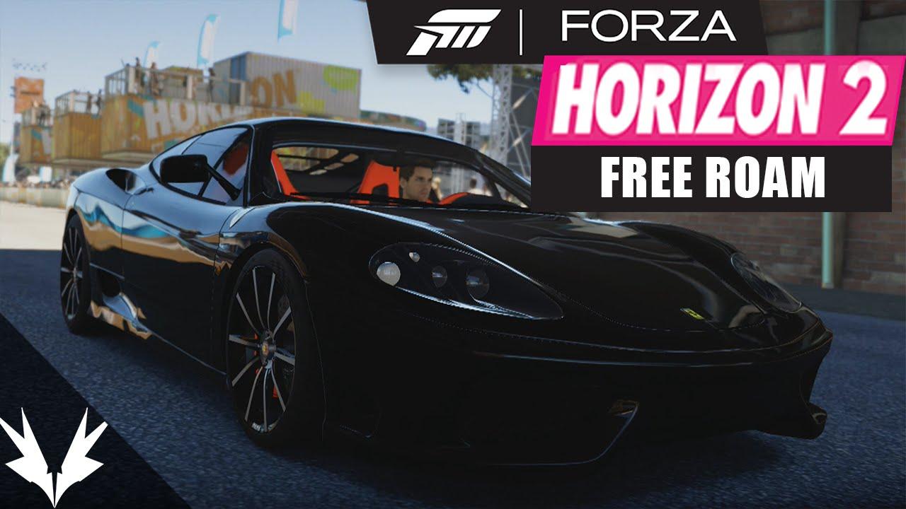 forza horizon 2 free roaming gameplay xbox one free roam youtube. Black Bedroom Furniture Sets. Home Design Ideas