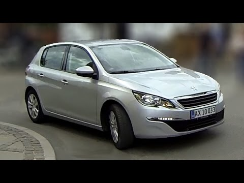 peugeot 308 1,6 bluehdi 120 hk, active - 2016 review - youtube
