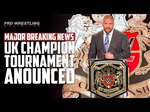 MAJOR BREAKING NEWS: WWE Announced New United Kingdom Champion & Tournament To Crown Champion