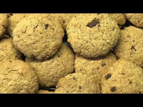 cookies-d'avoine-noix-de-coco---recette-facile