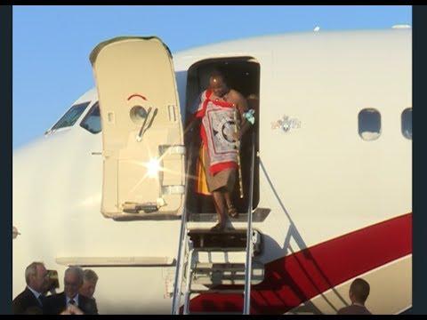 His Majesty King Mswati III has returned home