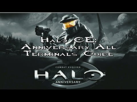 Halo CE: Anniversary All Terminals Guide (Master Chief Collection)