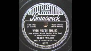 Teddy Wilson - When You're Smiling