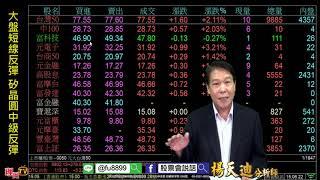 理周TV-20181031 盤後-楊天迪 股票會說話/大盤短線反彈 矽晶圓中級反彈