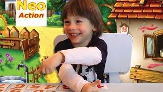 АНГЛИЙСКИЙ для детей. Учим цифры на английском языке (видео урок)